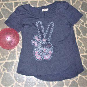 💝4/$15 Hollister  extra small womens tee shirt